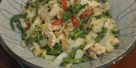 snake-beans-with-chicken-cabbage