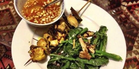 Turemric-marinated-chcken-kebabs-wiht-sweet-chilli-dipping-sauce
