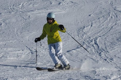 on skis again after two years; one year since my operation!
