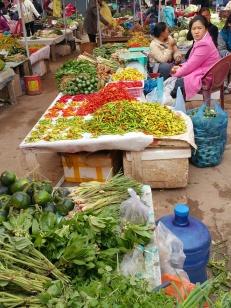 Nam Tha market